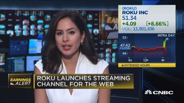 Roku jumps on better than expecting active account numbers