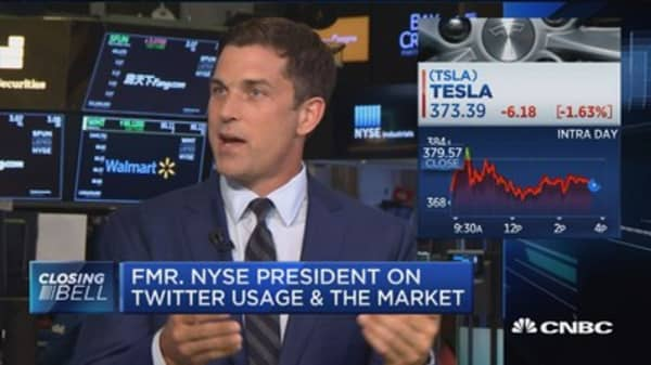 'I was appalled' at Musk's tweets: Former NYSE president