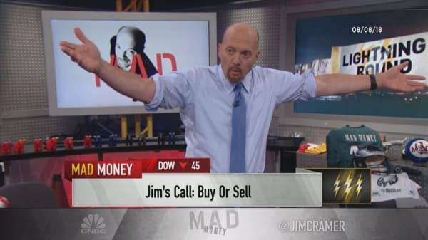 Cramer's lightning round: If Zuora's stock dips, buy more