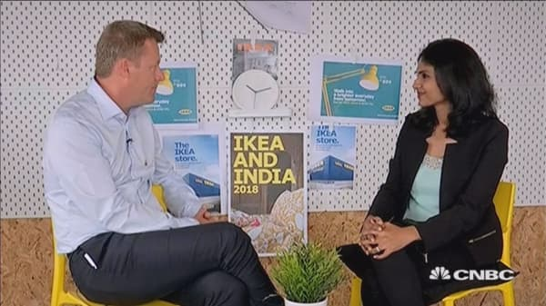 Ikea CEO on the company's first store in India