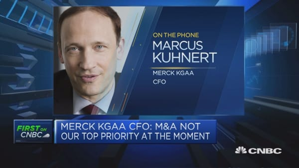 Merck KGaA CFO: Less currency pressure in Q2 than in Q1