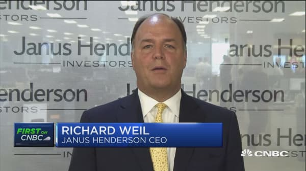 First On CNBC with Janus Henderson CEO Dick Weil