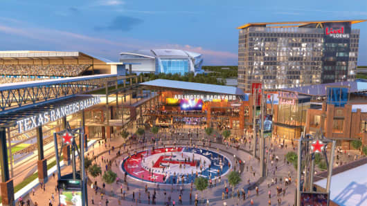 Texas Live!, a partnership between The Cordish Companies and the Texas Rangers, is a $250 million world-class dining, entertainment and hospitality district.