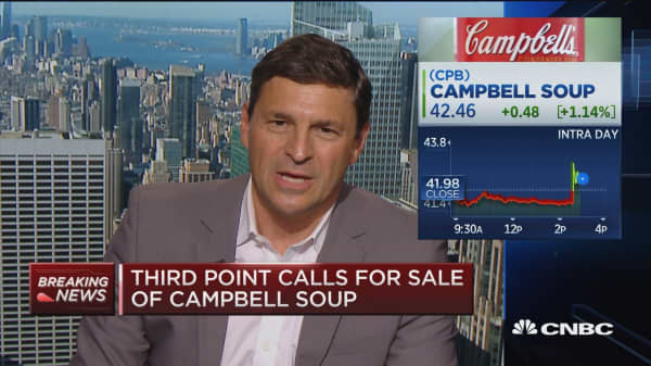 Third Point calls for sale of Campbell Soup