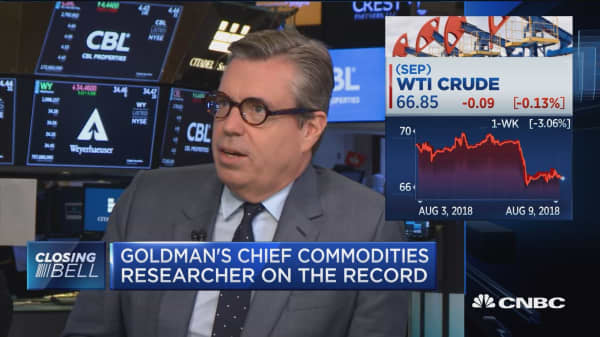Goldman Sachs' chief commodities researcher on the record