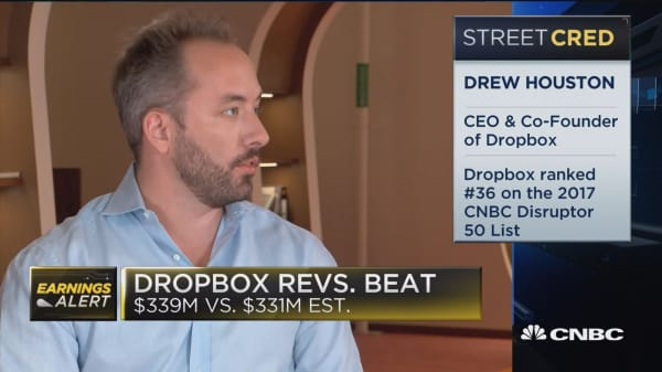 Dropbox CEO on Q2 earnings and paid user growth