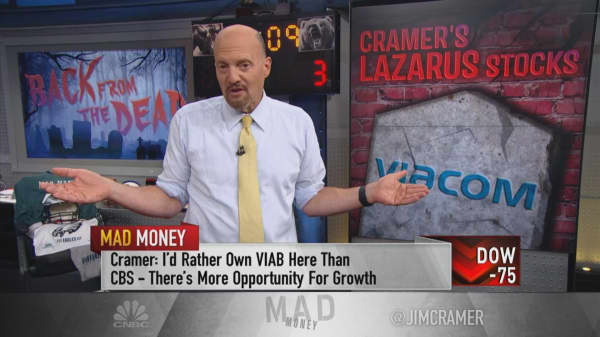 Cramer would rather own Viacom than CBS