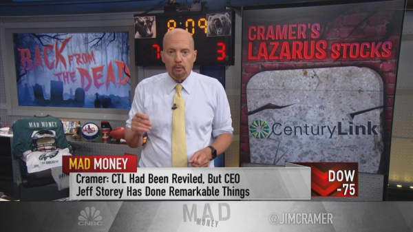 Cramer: I'd rather own the 'given-up-on' stock of Viacom than CBS