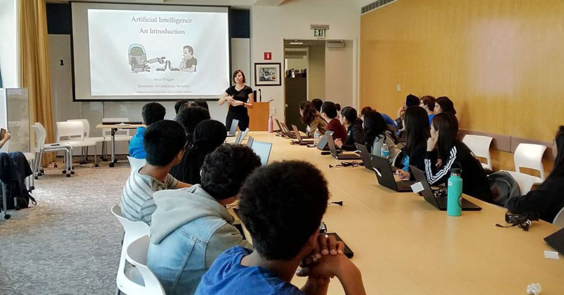 AI racial bias problem Google funding summer camps for change