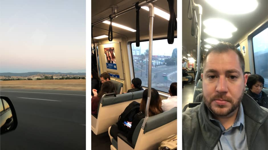 This 29-year-old commutes 4 hours and 140 miles to work every day so he doesn't have to pay $4,500-a-month San Francisco rent