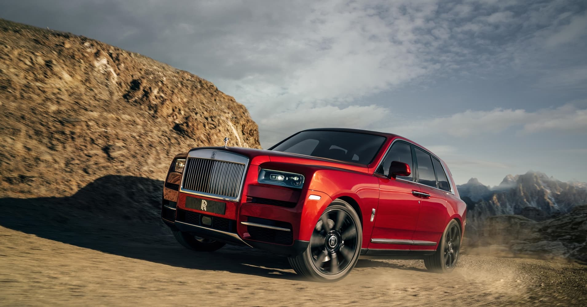 Photos: Cullinan is Rolls-Royce's first SUV