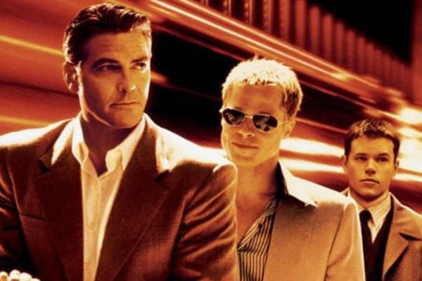 George Clooney, Brad Pitt and Matt Damon star in Ocean's Eleven