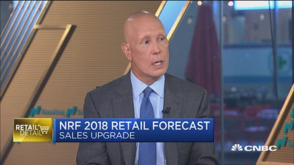 National Retail Federation forecasts 4.5% rise for 2018