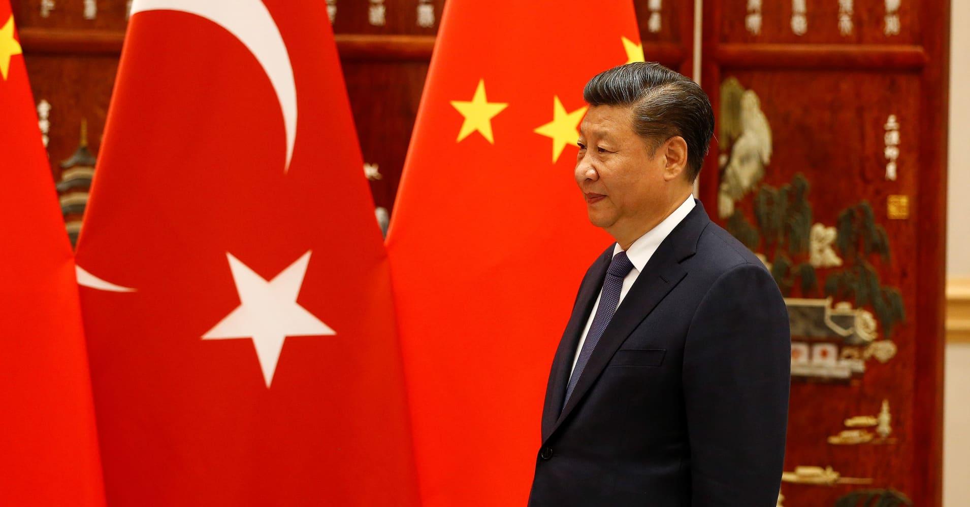 China backs Turkey to overcome its economic crisis