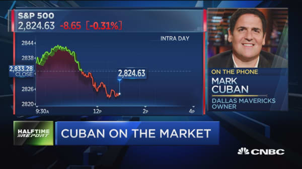 Mark Cuban on markets: I have a lot of cash on the sidelines