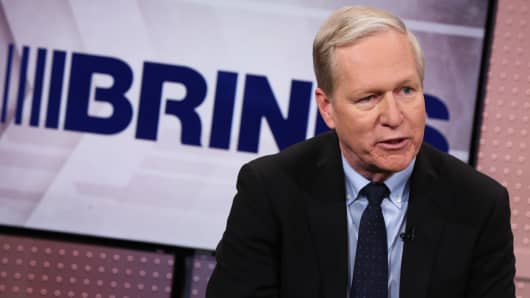 Douglas Pertz, CEO of The Brinks Company