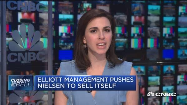 Elliott Management pushes Nielsen to sell itself