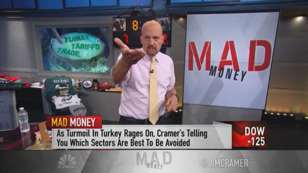 Cramer says 'stay away' from banks