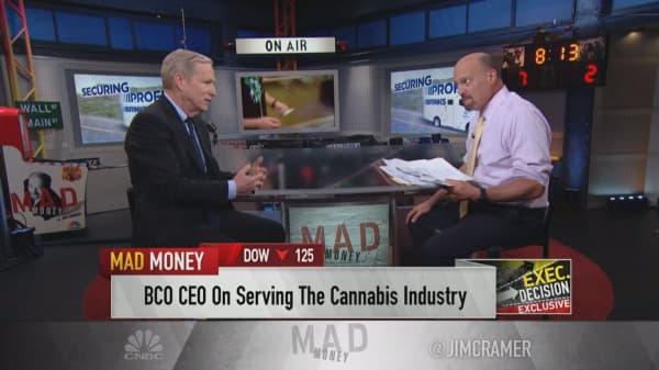 Brinks CEO on Canadian marijuana legalization