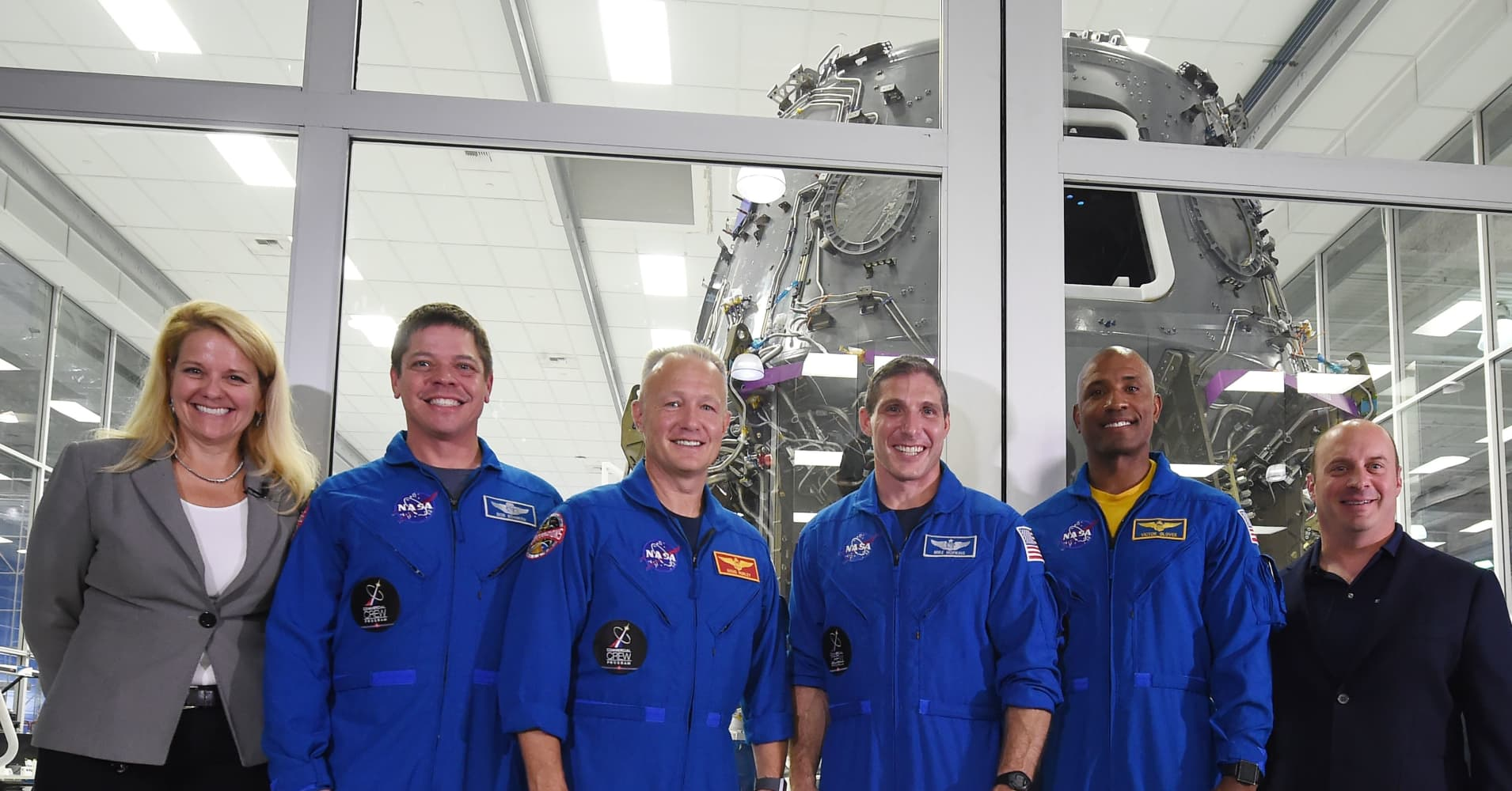 Step inside SpaceX's Crew Dragon capsule, launching the next generation of US spaceflight