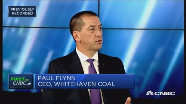 Asia is the 'centre of the universe' for coal growth: Whitehaven Coal CEO