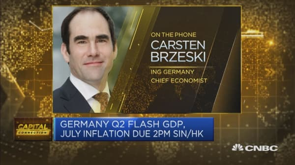 Germany's growth is set to outperform the Eurozone again, economist says