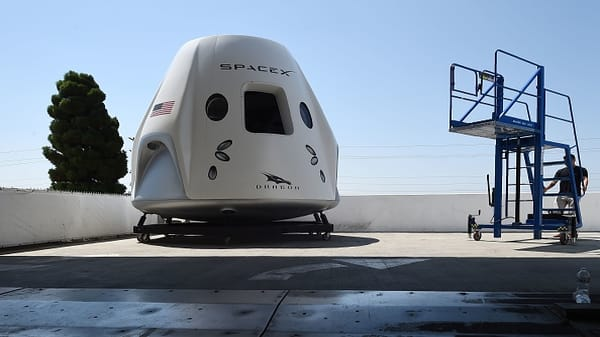 A look inside SpaceX's Crew Dragon