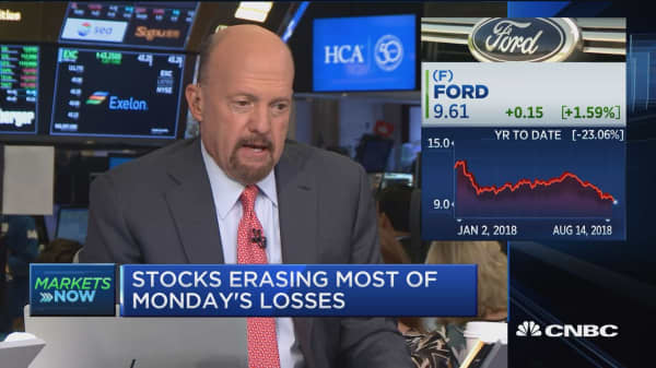 Ford's dividend has to be at risk, says Cramer