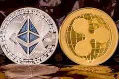 Ripple's XRP and ether drop double digits in massive cryptocurrency sell-off