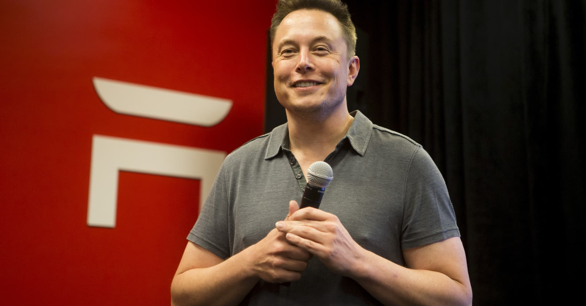 Elon Musk, CEO of Tesla