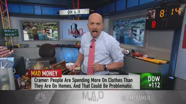 Cramer: These companies' earnings show that millennials are spending money on handbags, not houses