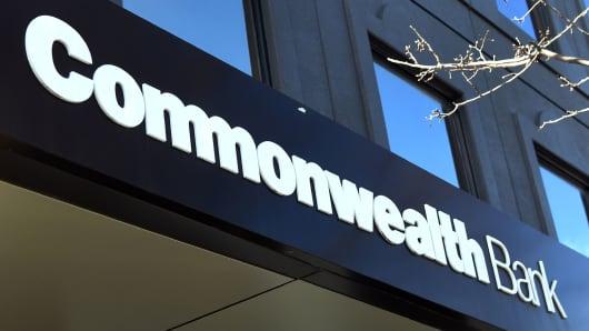 The Commonwealth Bank of Australia.