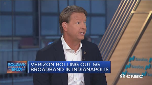 Verizon's CEO: We want to be the first in the world with 5G