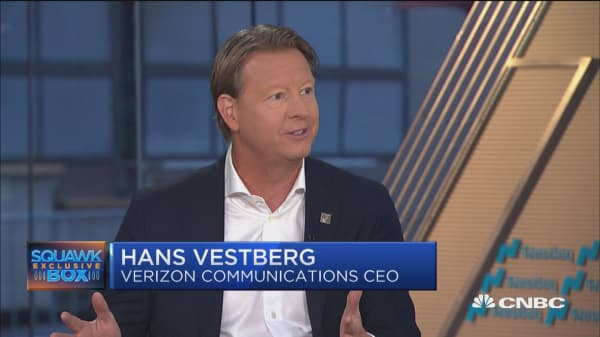 Verizon CEO: I'm different from Seidenberg, but we share the same vision
