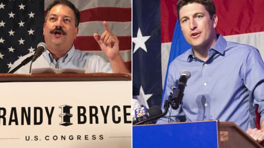 Randy Bryce and Bryan Steil will be running for Paul Ryan's seat in Wisconsin's 1st District.