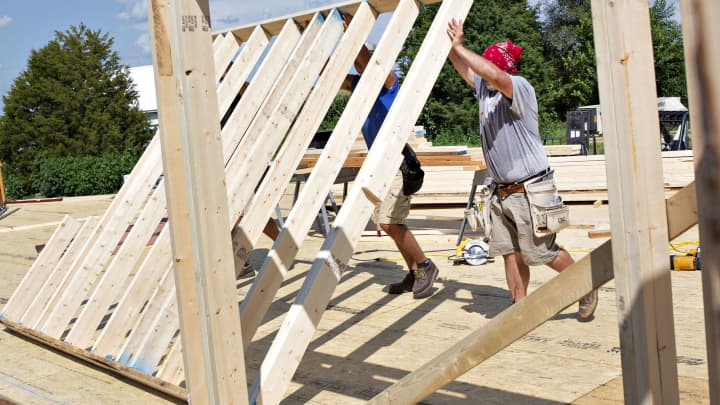 US housing starts total 1.269 million in May, vs 1.23 million expected