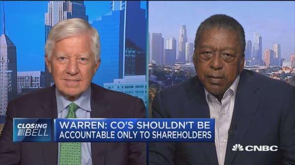 Senator Warren's capitalism bill has 'dangerous potential of channeling Karl Marx': BET founder