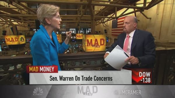Sen. Elizabeth Warren on trade deals