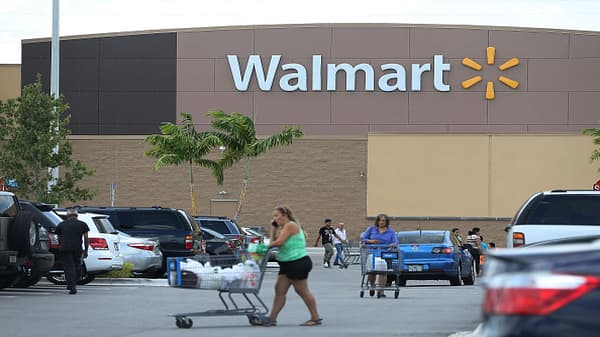 Walmart has best US comps growth in 10 years