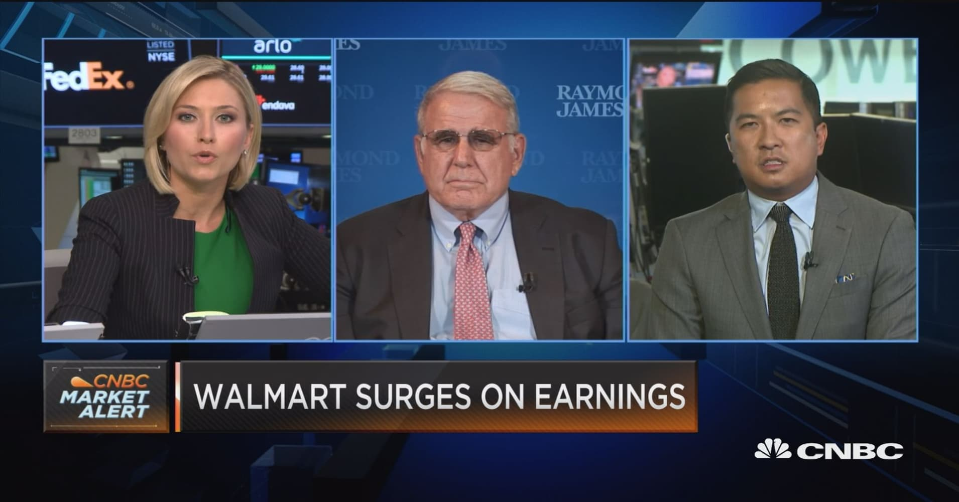 Bricks Plus Clicks The Real Story For Walmart Earnings Says Analyst Arlo Navy Women 39