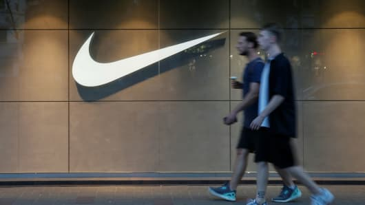 ffe7a3ce6edc Nike s stock dips after Avenatti tweets of  scandal