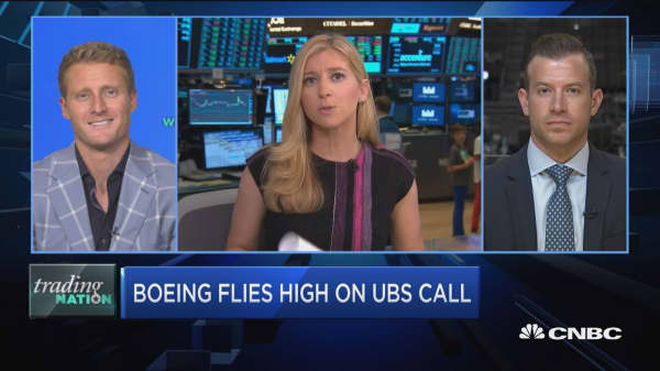 Trading Nation: Boeing flies high on UBS call