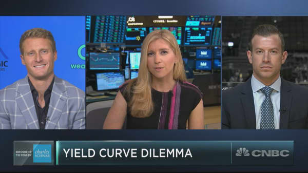Here's why the market is shrugging off a flattening yield curve