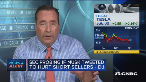 SEC probing if Elon Musk tweeted to hurt short sellers: Dow Jones