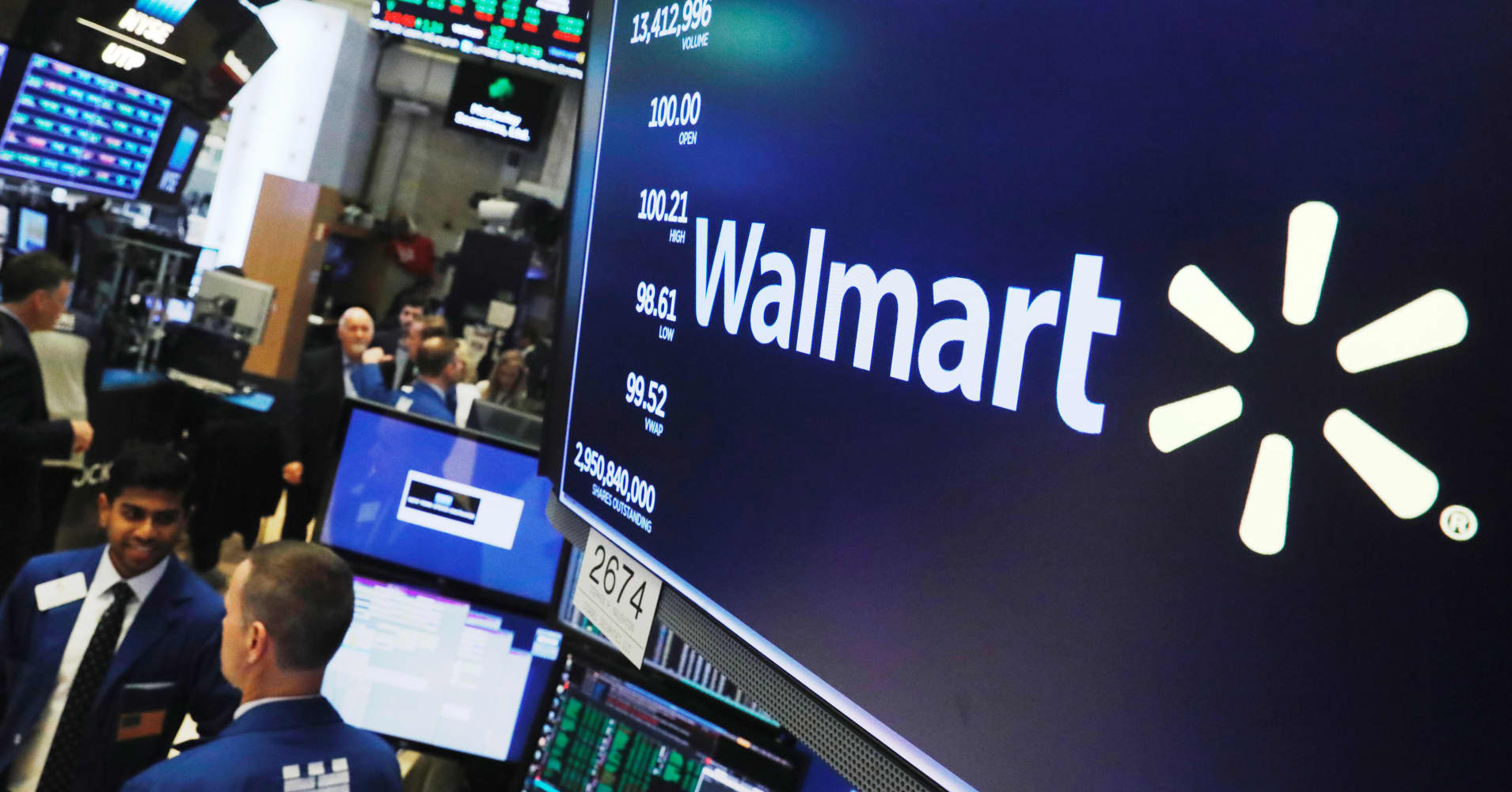 Stocks making the biggest moves midday: Walmart, PG&E, HSBC & more