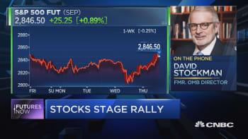 David Stockman: 'Unhinged White House' to cause stock market crash