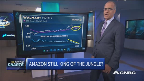 In the ultimate battle for the consumer, Amazon is still king of the jungle, technician says