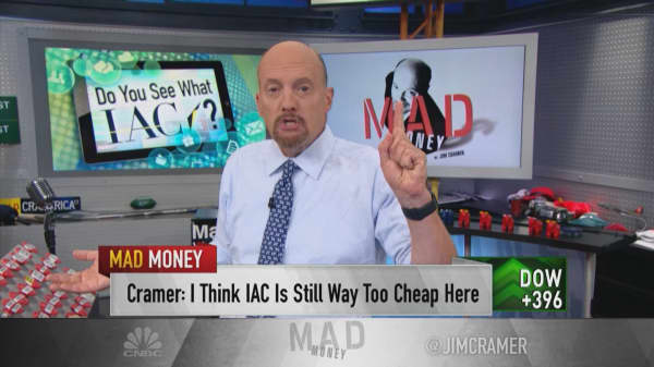 Cramer: Tinder co-founders' lawsuit makes IAC stock even more enticing