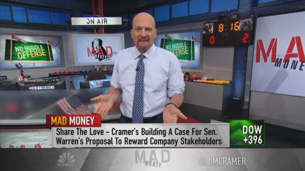 Cramer: Don't dismiss Sen. Elizabeth Warren's ideas as bad for companies