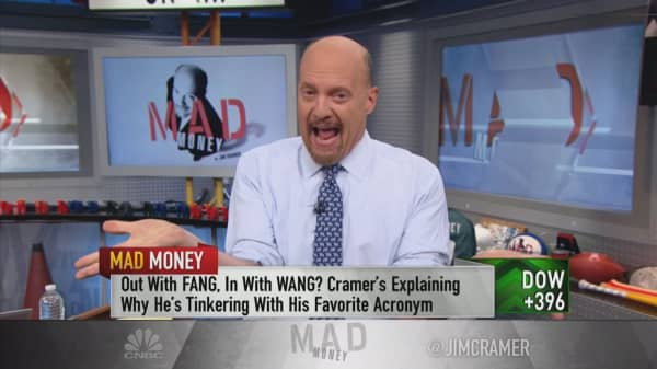 Cramer: Forget FANG, the market loves WANG